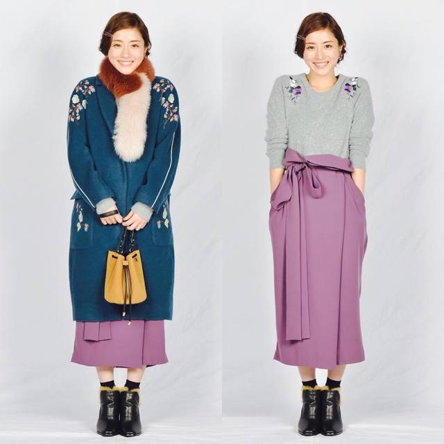 河野悦子のファッション 第7話