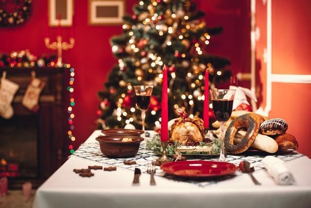 クリスマスの予約忘れのディナー