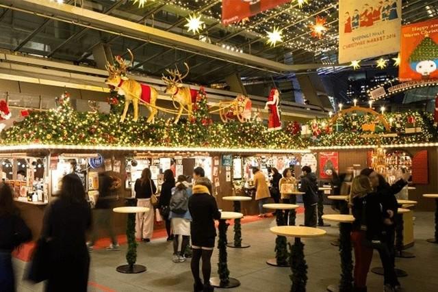 クリスマスに予約をしなくても楽しめる クリスマスマーケット