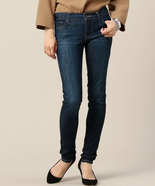 デートファッション/BEAUTY&YOUTH WOMEN/<LEVI'S> スキニーフィット デニムパンツ