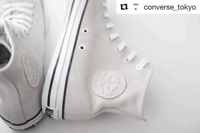 コンバース(converse)白のハイカット