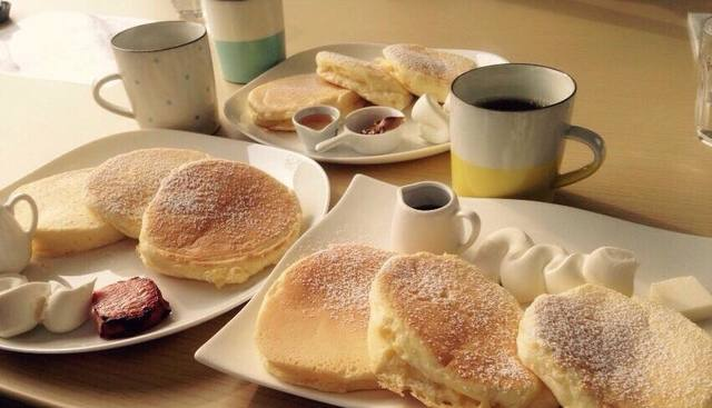 『ルセット』の米粉パンケーキ