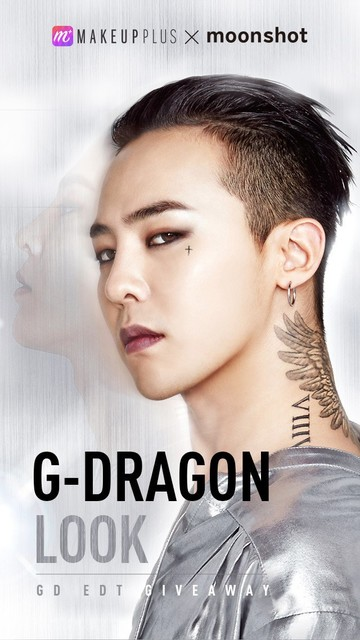 G-Dragon MakeupPlus