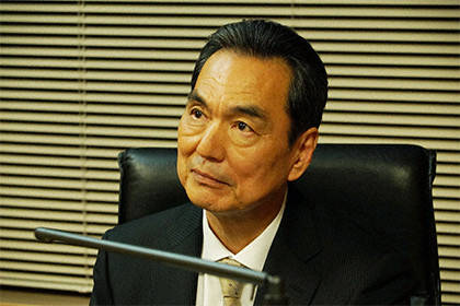 小栗旬さん&西島秀俊 CRISIS 公安機動捜査隊特捜班 長塚京三