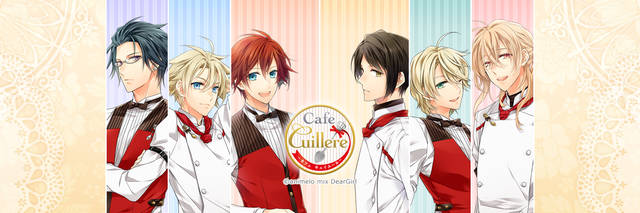 恋愛ゲームアプリ/無料/Cafe Cuillere ~カフェ キュイエール~