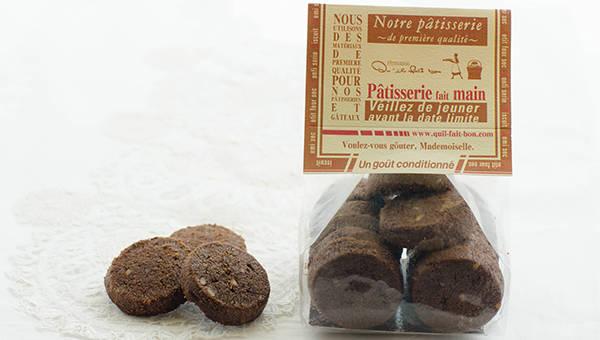 キルフェボン 焼き菓子 マカダミアナッツとココアのクッキー