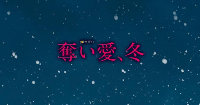 恋愛ドラマ 奪い愛、冬