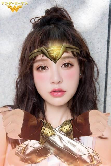 BeautyPlus ワンダーウーマン