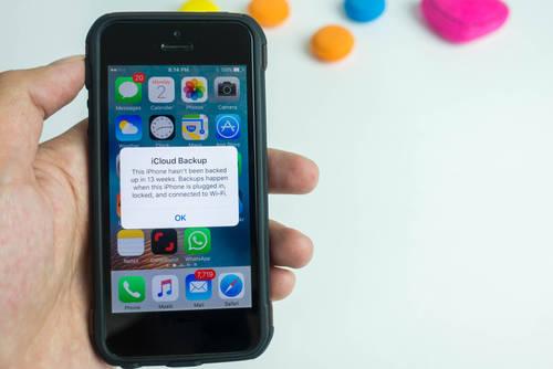 iPhoneの初期化の前に!バックアップはとった?