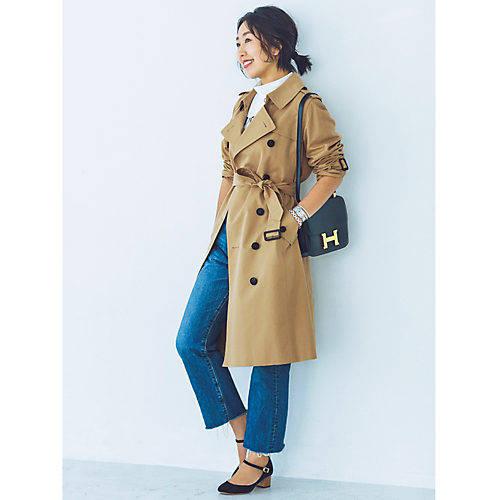 男ウケファッション/トレンチコート