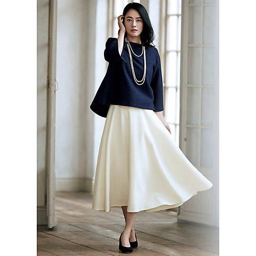 男ウケファッション/フレアスカート
