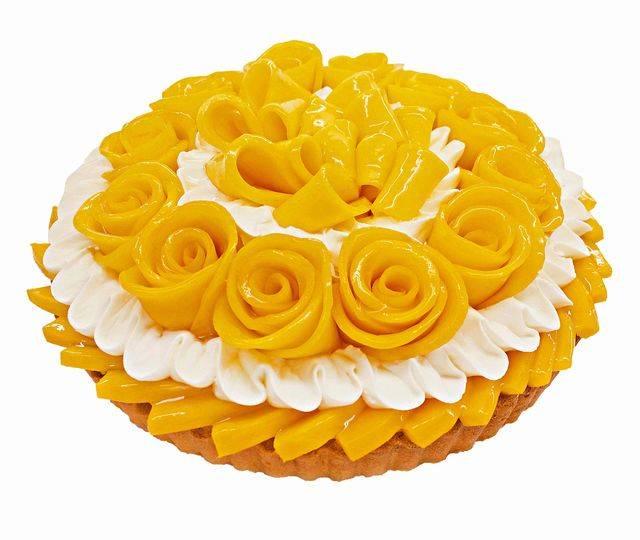 宮崎県産「完熟マンゴー」のケーキ