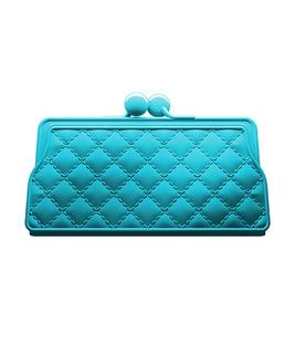 クラッチバッグチョッピングボード ブルー | entr...