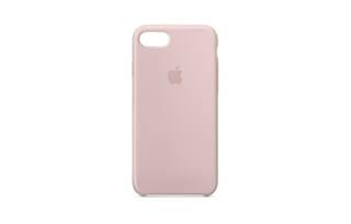 iPhone 8/7シリコーンケース - ピンクサンド (39378)