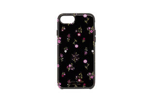 iPhone 8用 kate spade(R) ハイブリッドカバー/Spriggy Floral (39380)