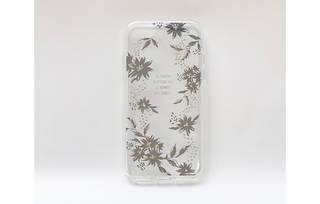 iPhone 8用 メタルデコレーションハイブリッドカバー (39584)