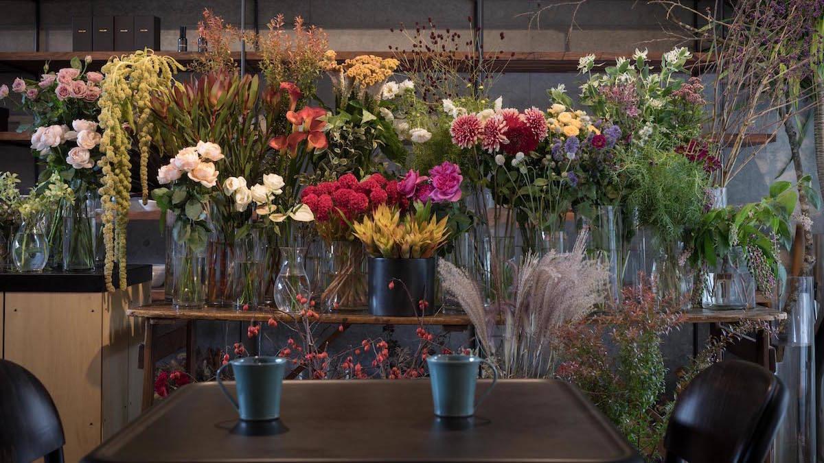 青山 Aglaia Intellectual and Comfort「知る人ぞ知るユニークな花屋を訪れ、日常に華やぎを」