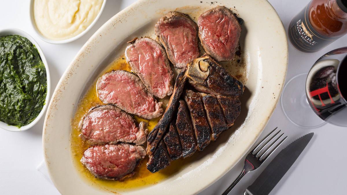 """六本木 エンパイアステーキハウス「一度は食べたい、NYで""""ステーキの王様""""と絶賛される迫力の赤身肉!」"""