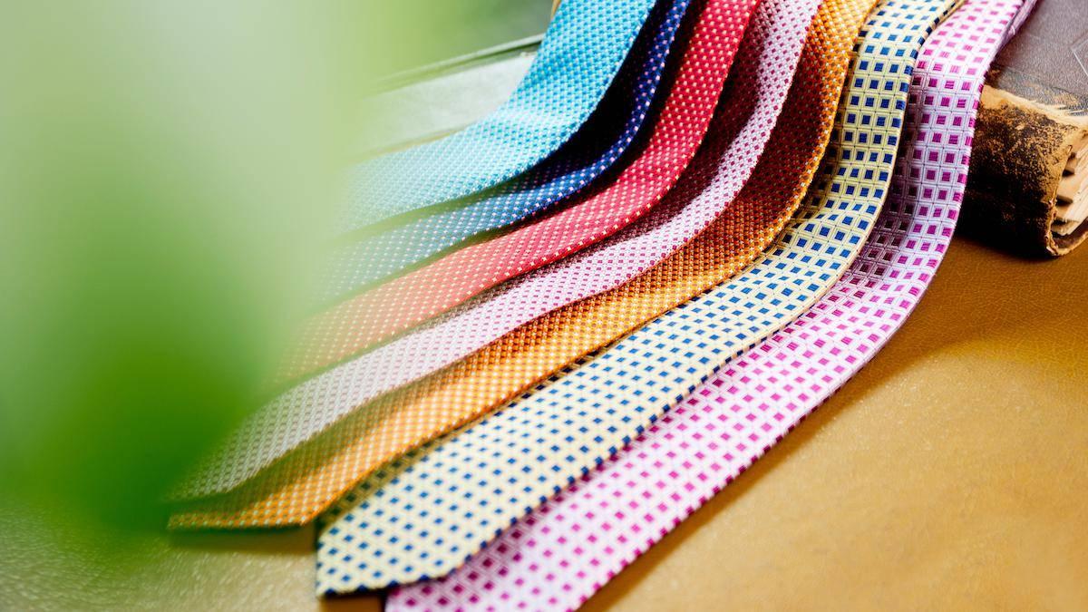 男心を掴むネクタイには、職人気質な魂が宿る