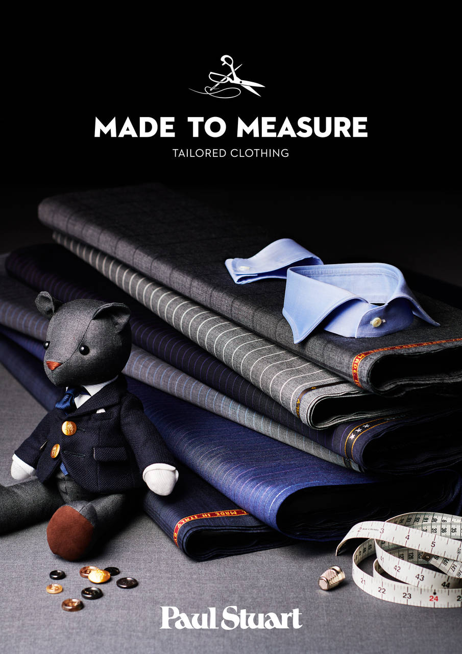【MADE TO MEASURE FOR MEN】2/17 SAT.START