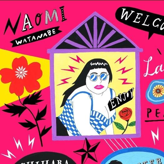 Naomiグッズがヤバかわいい 渡辺直美 Asoko De よしもと ガールズキャラクターマガジン Shuu Shuu Girl