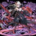 【パズドラ】ヴァルキリーの色違いフィギュア(闇・木・水・火)の4色を比較してみた!