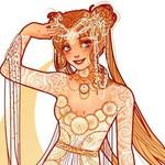 アルフォンス・ミュシャ風に描かれたディズニーやアニメ、ゲームヒロインは、アートで美しい!