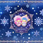 雪が舞う幻想的なキキララ×KUNIKA☆イオン限定コラボアイテム