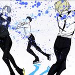 アニメ【ユーリ!!! on ice】で繰り広げられる氷上のドラマ!放送終了後も人気がとまらない!
