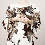 海外に見る!世界の猫好き女子や有名ブランドによる、猫コーデスタイル♪