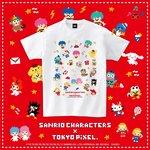 8bitカルチャー「TOKYO PiXEL.」とサンリオがコラボ♪ゲームみたいなサンリオキャラクターのアイテムに注目