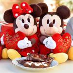 今年のハッピーバレンタインはディズニーのチョコレートやお菓子で♪みんな仲良くな~れ♡