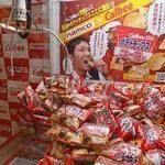 【大阪クレーンゲーム】namco梅田店のクレーンゲームでナムコ限定ポテトチップを入手しよう!