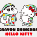 めちゃかわ💓「ハローキティ × クレヨンしんちゃん」コラボグッズがサンリオから登場【2019年2月14日から】