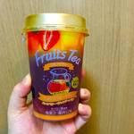 【コンビニフルーツティー】ファミマ限定のフルーツティー飲んでみた。果肉たっぷりで美味しい!