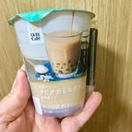 コンビニで発見!新たなタピオカドリンク。ローソン「岩塩クリームタピオカミルクティー黒糖蜜入り」