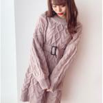 最強のデート服💓この冬はニットワンピで女の子っぽくガーリーに。