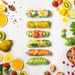 見栄え抜群💝美味しさ満足✨是非とも食べたい話題の台湾グルメ「フルーツ生春巻き」「甜アールグレイカステラ」