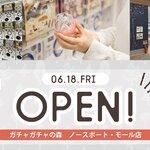 2021年6月18日 ガチャガチャの森ノースポート•モール店がオープン!!