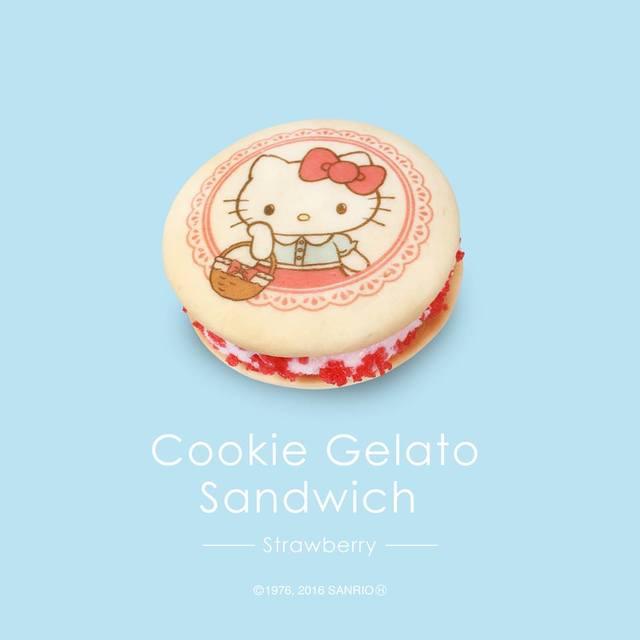 「ハローキティのクッキーサンド」
