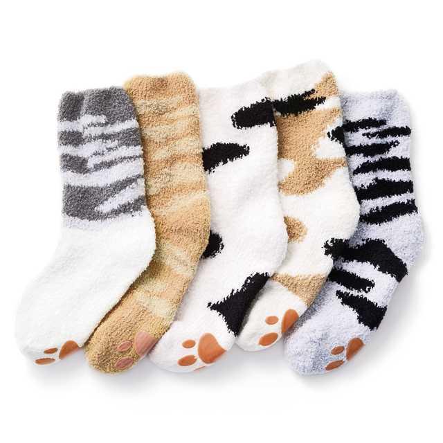 みにゃさまとつくった 猫足もふもふルームソックス〈パート2〉の会|フェリシモ (2219)