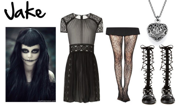 fangirl94stuff — Black Veil Brides: Halloween Outfit (2679)
