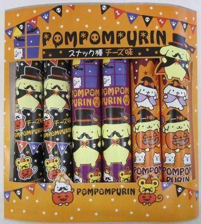 サンリオの人気キャラクター「ポムポムプリン」のスナック棒!