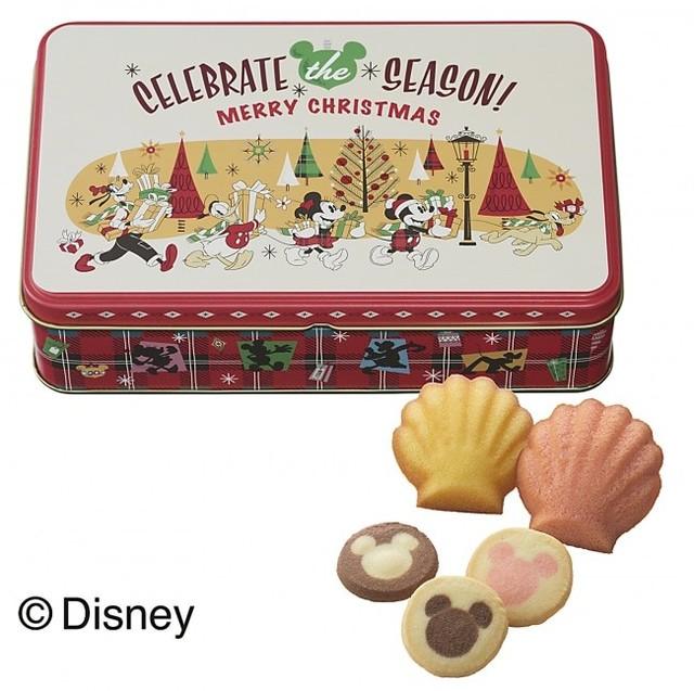 ディズニー・クリスマス缶(5種13個入)