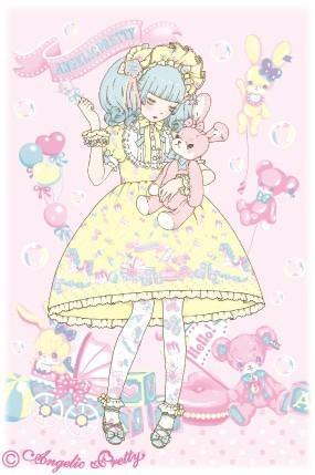 """大人気ロリータブランド """"Angelic Pretty"""""""