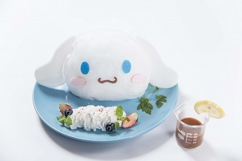 「シナモロールカフェ風デザートを再現してみたぞ。」 会...