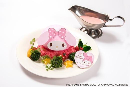 マイメロディのピンクカレー 1,280円(税抜)