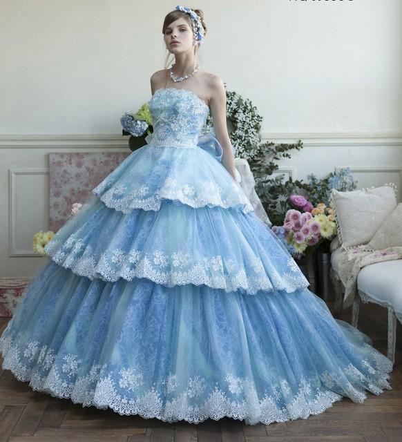 シンデレラになるウェディングドレス