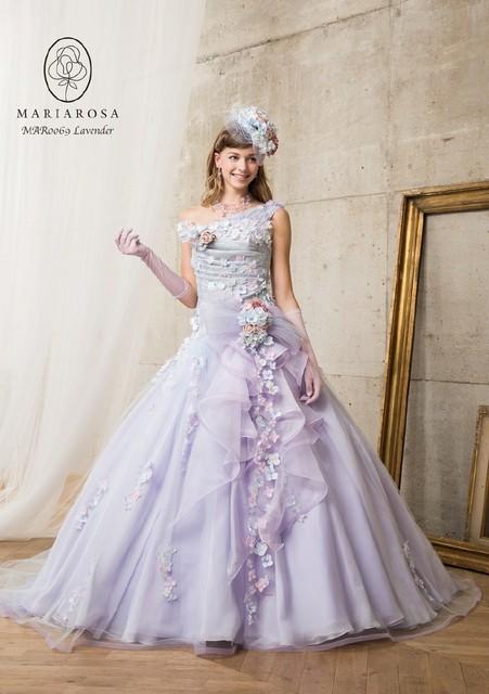ラプンツェルになるウェディングドレス