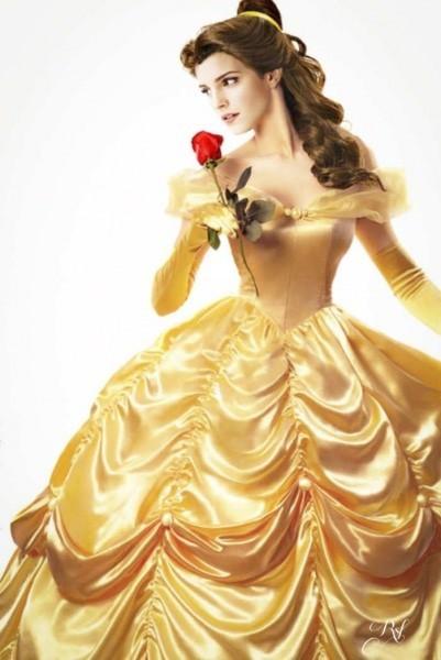 ベルになるウェディングドレス